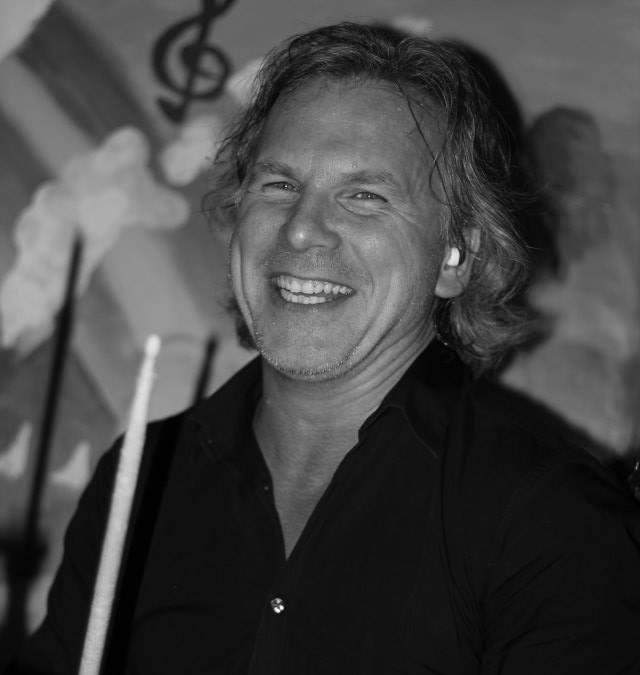 Roalt Breet drumdocent bij Popschool Blaricum Blaricum
